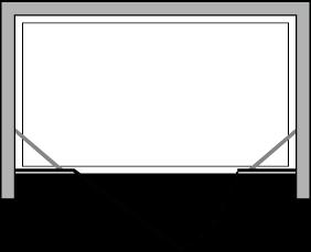 CNPL + CNFL : Flügeltür mit Fixseite (in Linie)