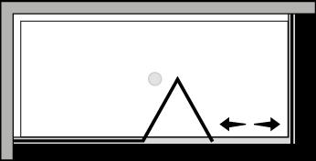 FRSFL + FRFI : Falttür mit Fixteil und Fixseite (Ecke)